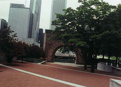 Sullivan's Arch in Chicago, USA